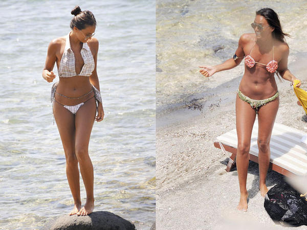 Türk modeldən qeyri-adi bikini dəbi - FOTO