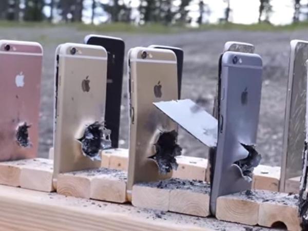 """Gülləyə hansı dözümlüdür: """"iPhone"""", yoxsa """"Samsung""""? - VİDEO"""