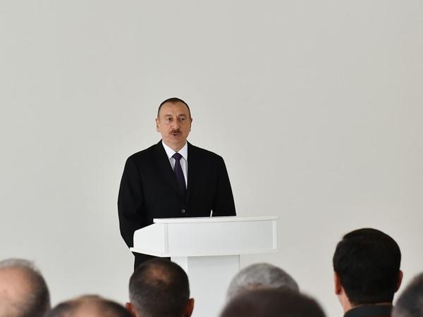 """Prezident İlham Əliyev: """"Ermənistan tərəfi Helsinki Yekun Aktını diqqətlə oxusun"""""""