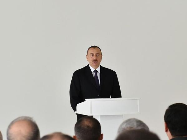 """Prezident İlham Əliyev: """"Artıq Azərbaycana yeni silahlar, texnikalar gətirilir"""""""
