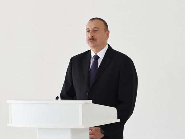 """Azərbaycan Prezidenti: """"Bizə heç kim şərt qoya bilməz"""""""