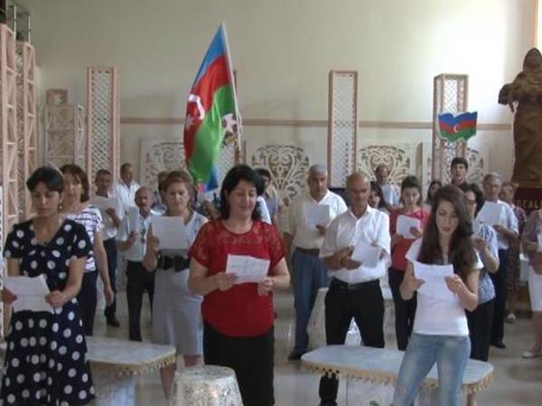 Ləzgi dilində Azərbaycan hərbi marşı