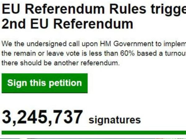 Brexit: ikinci referendum petisiyası fırıldaqdır?