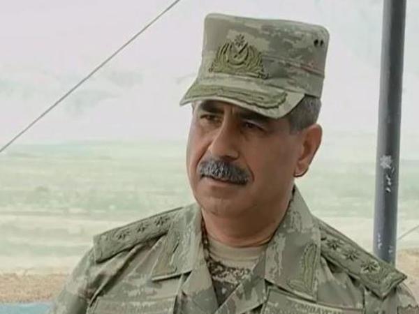"""Zakir Həsənov: """"Yeni silahların effektivliyini gördük"""" - VİDEO"""