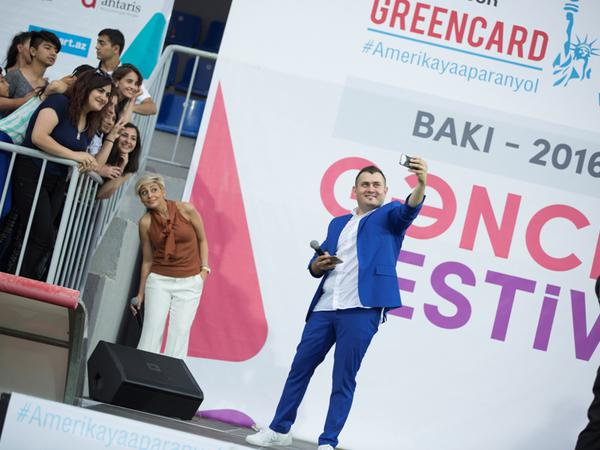 Bakıda möhtəşəm Gənclər Festivalı keçirildi - FOTO