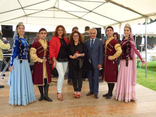 Azərbaycanın xalq artisti Fransa Senatının xatirə medalına layiq görülüb - FOTO