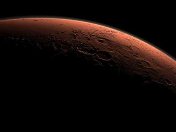 Marsa qar yağdı - FOTO