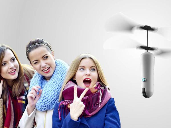 Dronlarla selfi dövrü gəlir - FOTO