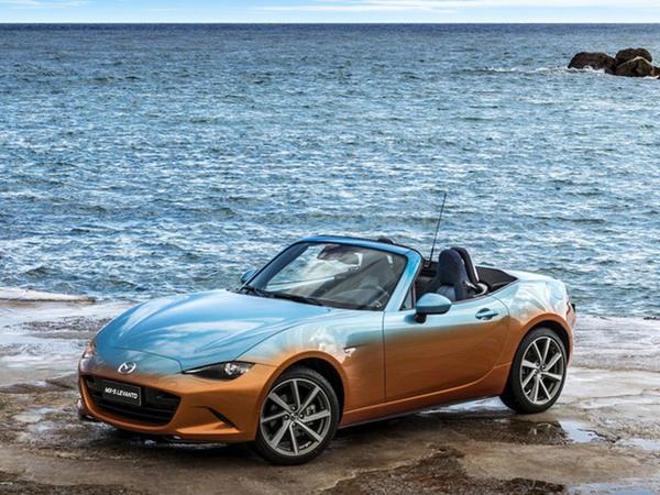Qürub rəngli Mazda - FOTO