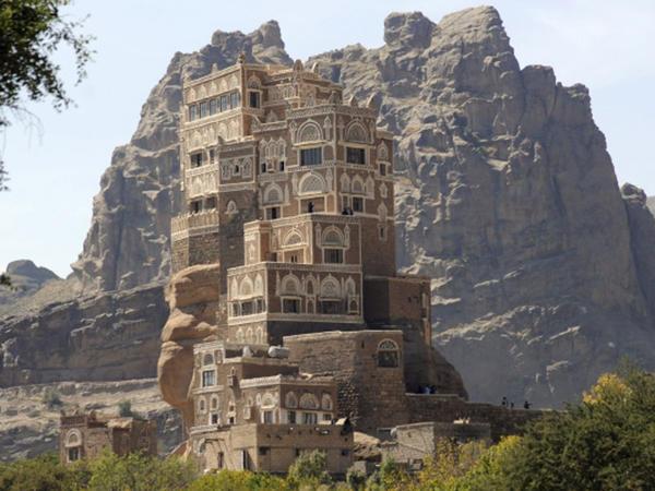 Dar əl Həcər: qayadakı saray - FOTO