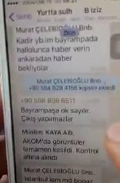 Qiyamçı hərbiçilərin WhatsApp yazışmaları üzə çıxdı - FOTO