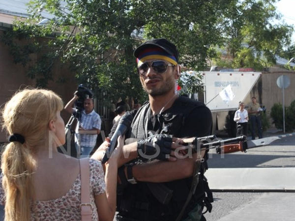 """""""Ermənistanı azad etmək missiyası ilə silahlı üsyan qaldırmışıq"""" - FOTO"""