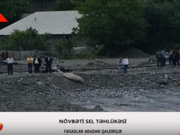 Güclü yağış kəndi körpüsüz qoydu - YENİLƏNİB - VİDEO - FOTO