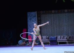 Daha bir rusiyalı idmançı Bakıda gimnastika yarışında birinci oldu