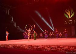 Bakıda bədii gimnastika üzrə Dünya Kubokunun bağlanış mərasimi keçirilib - FOTO