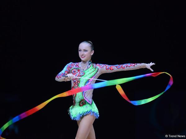 Azərbaycan gimnastı Dünya Kubokunda bürünc medal qazandı