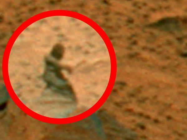 Marsda 5 sirli məxluq - VİDEO