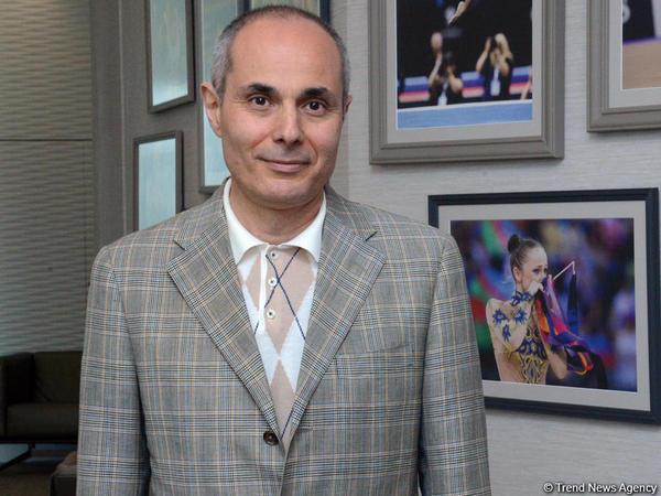 """""""Bakıda bədii gimnastika üzrə Dünya Kubokunda milli kolorit aydın ifadə olunub"""""""