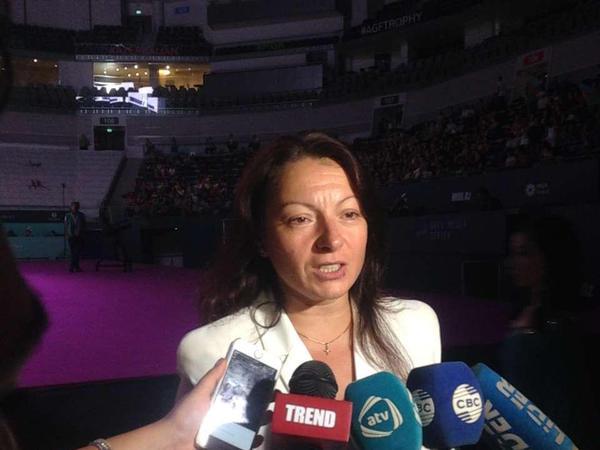 Mariana Vasileva gimnastlarımızın çıxışından razıdır
