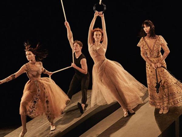 """Valentino""nun balet reklamı - FOTO"