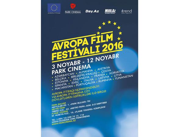 Noyabrın 3-də VII Avropa kino festivalı başlanacaq - FOTO