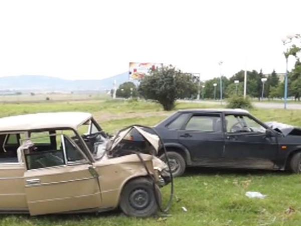 """""""Maşın üstümə doğru gəldi"""" - 5 nəfərin yaralandığı qəzanın TƏFƏRRÜATI - VİDEO - FOTO"""