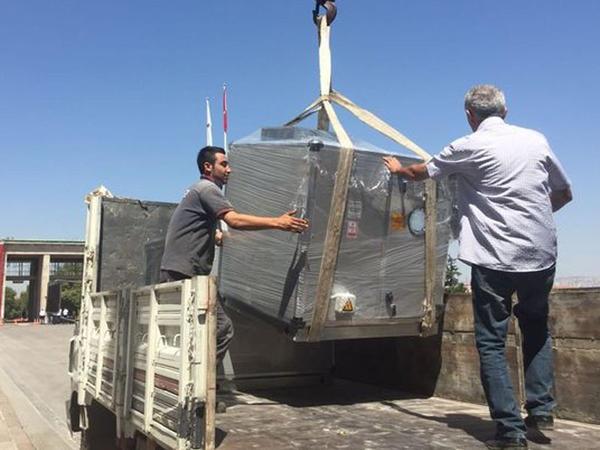 Türkiyənin parlament binasına raket əleyhinə müdafiə sistemi yerləşdirilir - FOTO