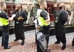 """Molla polisin dərsini verdi: """"Sus, məni dinlə!"""" - VİDEO - FOTO"""