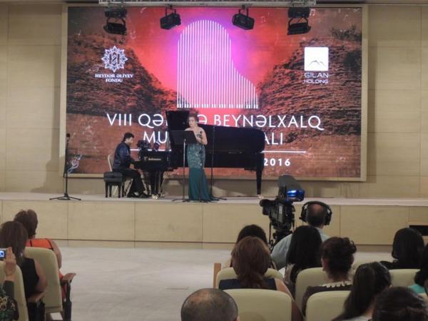 VIII Qəbələ Beynəlxalq Musiqi Festivalının ilk konsertləri - FOTO