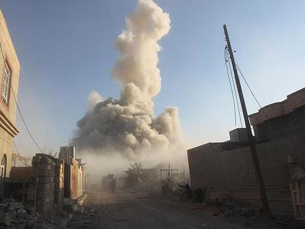 ABŞ qırıcıları yas mərasimini bombaladı