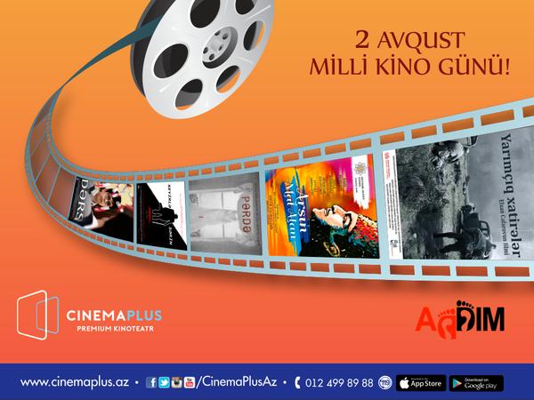 """""""CinemaPlus"""" kinoteatrlar şəbəkəsi """"Milli kino Günü""""nü qeyd edir - VİDEO"""