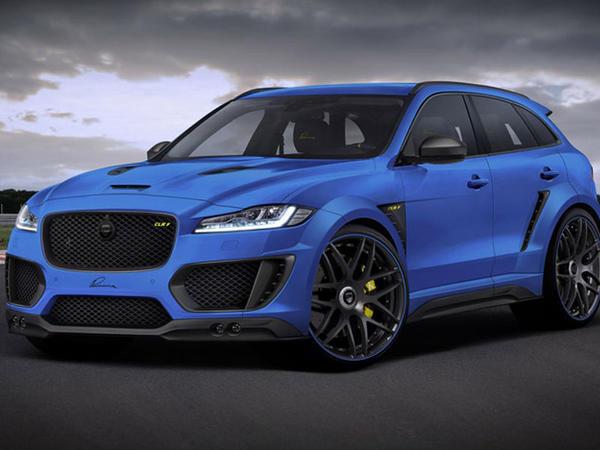 Lumma Design tüninqində Jaguar F-Pace - FOTO