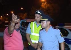 Sərxoş sürücülər polislərin başına oyun açdılar - VİDEO - FOTO