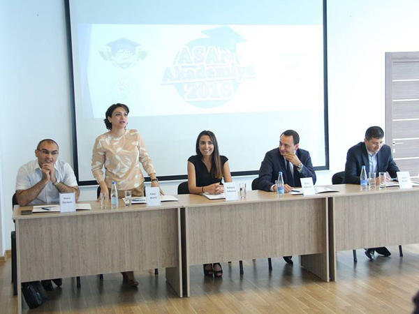 ASAN Akademiya fəaliyyətə başladı - FOTO