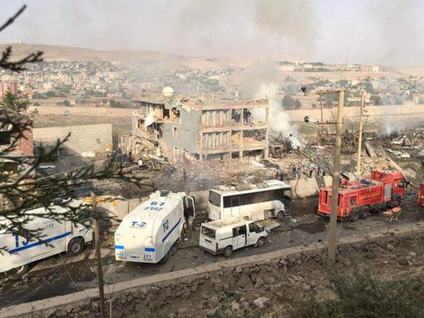 Türkiyədə məşum terakt: 11 şəhid, 70 yaralı - VİDEO - FOTO