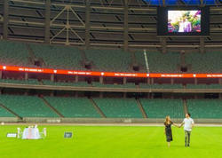 Bakı Olimpiya Stadionunda toy olacaq - FOTO
