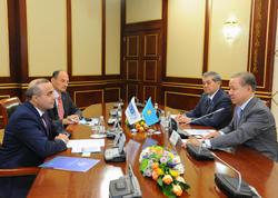 Azay Quliyev Qazaxıstan Parlamentinə təkliflər verib - FOTO