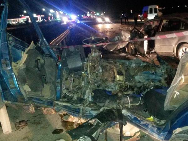 Sumqayıtda dəhşətli qəzada 6 nəfər öldü - FOTO