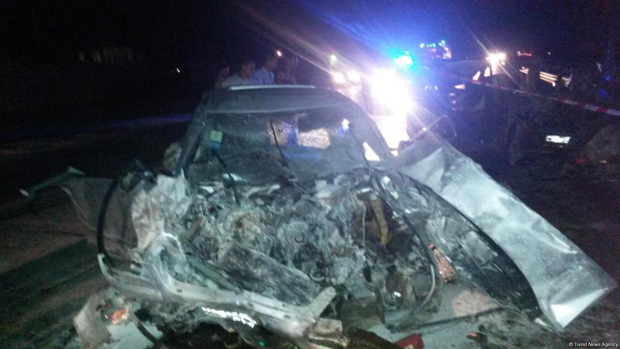 Sumqayıtda dəhşətli qəzada 6 nəfər öldü - YENİLƏNİB - FOTO