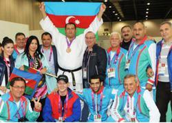 Paralimpiyaçılarımız Vətənə döndülər