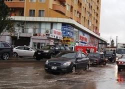 Yağışdan sonra Bakı… - FOTO