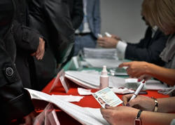 """Gəncədəki 22 seçki məntəqəsində """"exit-poll"""" keçirilir"""