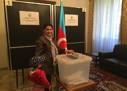 Azərbaycanın İtaliyadakı səfirliyində səsvermə başa çatıb - FOTO