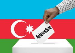 Referendumda seçicilərin 69,7 faizi səs verib - YENİLƏNİB