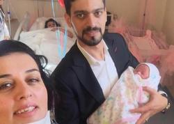 Elzanın qızının doğum anı FOTOları yayıldı