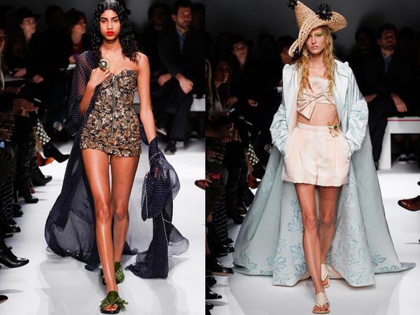 Parisdə moda həftəsi: Schiaparelli - FOTO