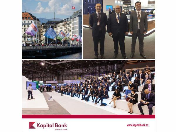 Kapital Bank SIBOS - 2016 Beynəlxalq Sərgisində iştirak edir
