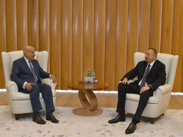 Azərbaycan Prezidenti İlham Əliyev ISESCO-nun baş direktorunu qəbul edib
