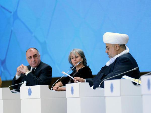 V Bakı Beynəlxalq Humanitar Forumundan FOTOLAR