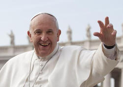 Roma Papasının Gürcüstana gəldi - FOTO